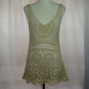 Staring at Stars Sleeveless Top Boho Anthropologie